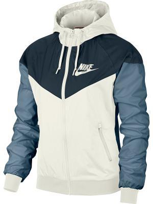 Куртка W NSW WR JKT OG Nike. Цвет: синий