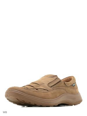 Ботинки Shoiberg. Цвет: горчичный