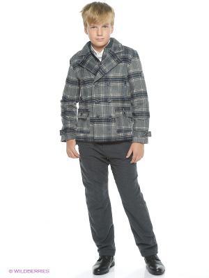 Пальто Pinetti. Цвет: серый