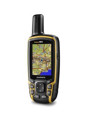 Туристический навигатор GPSMAP 64 Rus GARMIN. Цвет: желтый