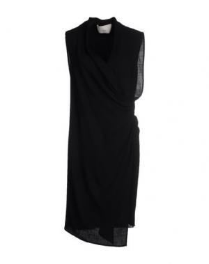 Платье до колена ..,MERCI. Цвет: черный