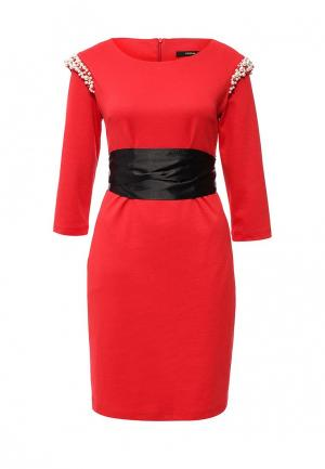 Платье Piena. Цвет: красный