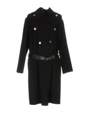 Пальто LA FABRIQUE. Цвет: черный