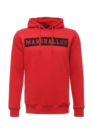Худи Marshall Original. Цвет: красный
