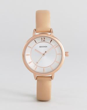 Sekonda Часы с розовым ремешком из искусственной кожи 2137. Цвет: розовый