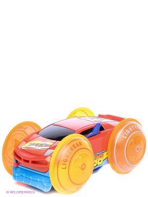 Машина-перевертыш Играем вместе. Цвет: красный, оранжевый