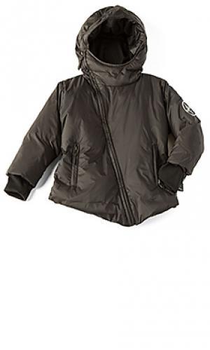 Куртка пуховик Nununu. Цвет: черный