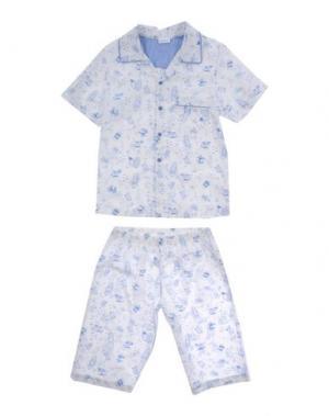 Пижама GRIGIO PERLA. Цвет: небесно-голубой