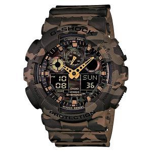 Часы  Ga-100cm-5a Camo Casio G-Shock. Цвет: черный,зеленый,коричневый