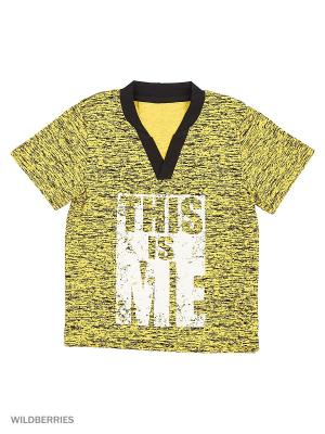 Футболки ИП Комарова Е. П.. Цвет: черный, желтый