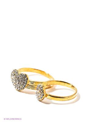 Кольцо Lovely Jewelry. Цвет: золотистый