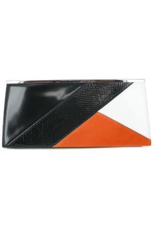 Клатч Costume National. Цвет: черный