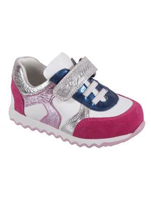Детская обувь TIFLANI. Цвет: фуксия, розовый, белый