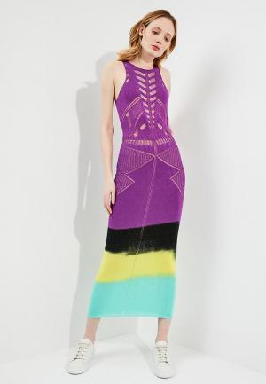 Платье Pinko. Цвет: фиолетовый