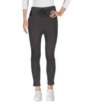 Повседневные брюки KORALLINE. Цвет: стальной серый