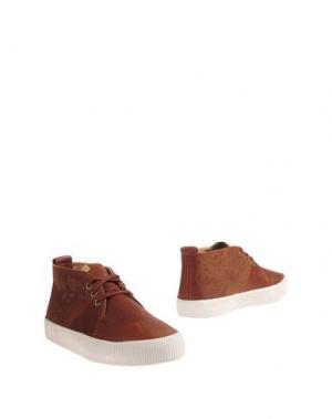 Полусапоги и высокие ботинки POINTER. Цвет: коричневый