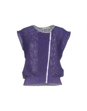 Кардиган NIOI. Цвет: фиолетовый