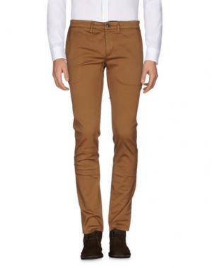 Повседневные брюки DEPARTMENT 5. Цвет: коричневый