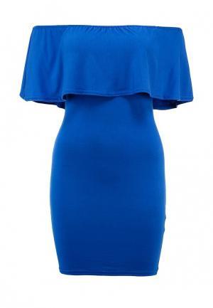 Платье Influence. Цвет: синий