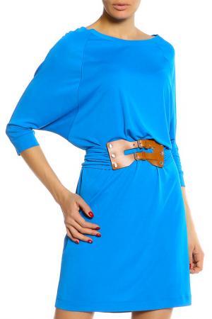 Платье Marc Cain. Цвет: голубой