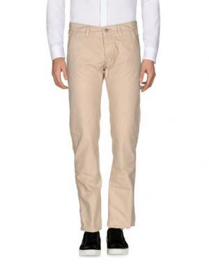 Повседневные брюки 2 MEN. Цвет: светло-серый