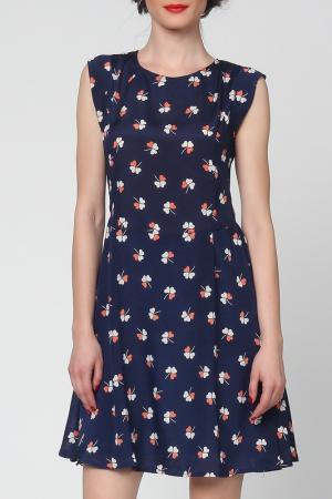 Платье Grazia. Цвет: синий