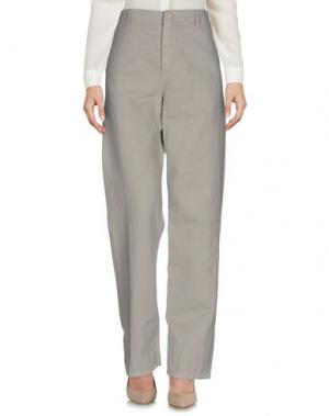 Повседневные брюки G750G. Цвет: бежевый