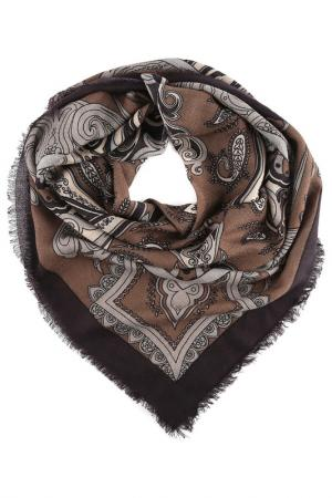 Платок Fabretti. Цвет: коричневый