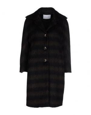 Легкое пальто AGLINI. Цвет: черный