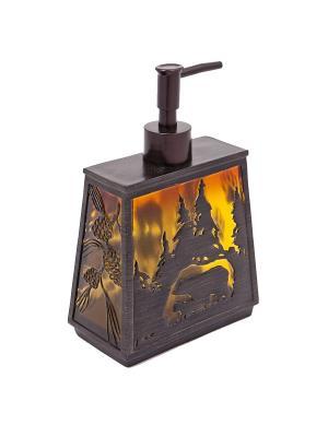 Дозатор для жидкого мыла Blonder Home. Цвет: коричневый