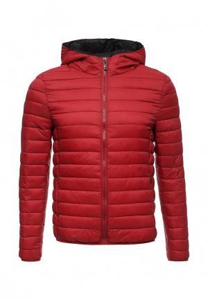 Куртка утепленная Forex. Цвет: бордовый
