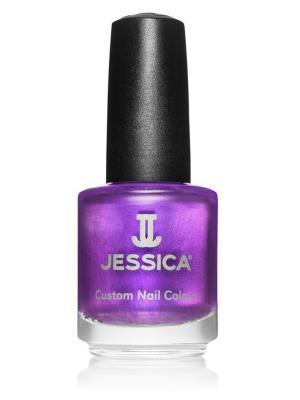 Лак для ногтей  #542 Red Delight, 14,8 мл JESSICA. Цвет: фиолетовый