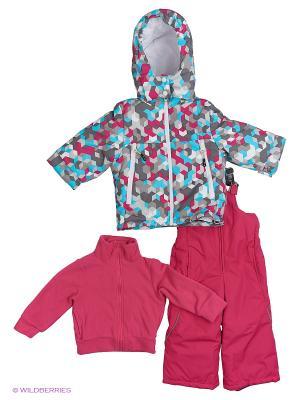 Комплект batik. Цвет: малиновый