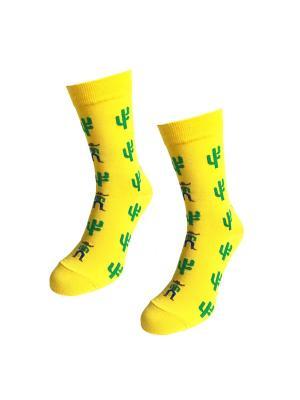 Носки Big Bang Socks. Цвет: желтый