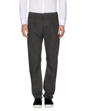 Повседневные брюки NOVEMB3R. Цвет: свинцово-серый