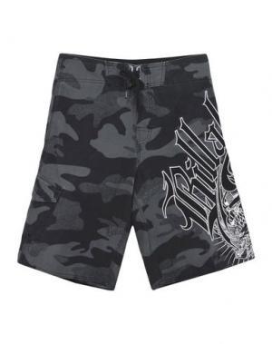 Пляжные брюки и шорты BILLABONG. Цвет: стальной серый