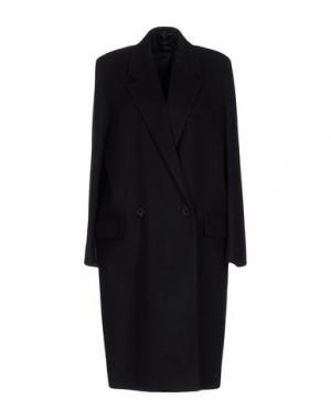 Пальто TRUE TRADITION. Цвет: темно-синий
