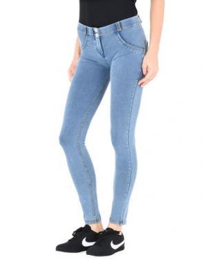 Джинсовые брюки FREDDY. Цвет: синий