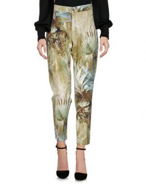 Повседневные брюки E-GÓ. Цвет: зеленый