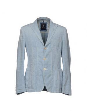 Пиджак CALVARESI. Цвет: небесно-голубой