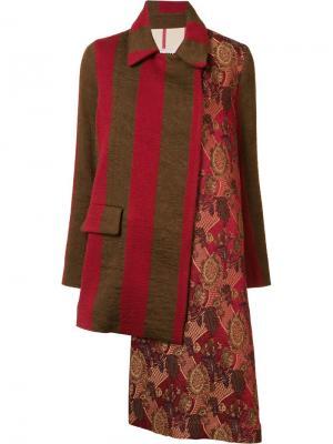Пальто Oblo Uma Wang. Цвет: красный