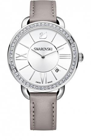 Наручные часы Aila Day Swarovski. Цвет: серый