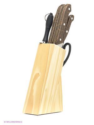 Комплект ножей Bekker. Цвет: коричневый