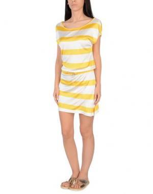 Пляжное платье MARINA YACHTING. Цвет: желтый