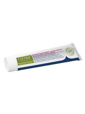 Cattier Зубная Паста Эриден Отбеливающая Без Фтора (75 Мл). Цвет: бежевый, белый