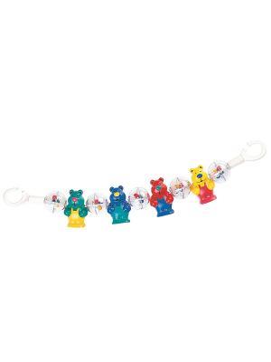 Погремушка на коляску 2/169 Canpol babies. Цвет: зеленый, желтый, красный, синий