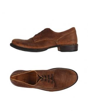 Обувь на шнурках FIORENTINI+BAKER. Цвет: какао