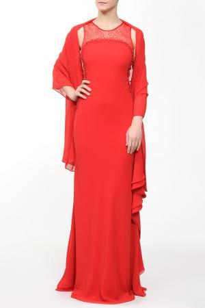Платье вечернее Clips. Цвет: красный