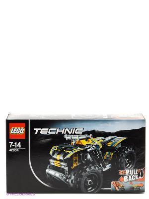 Игрушка Техник Квадроцикл, номер модели 42034 LEGO. Цвет: серый, желтый, черный