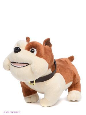 Мягкая игрушка Бульдог Луис Мульти-пульти. Цвет: коричневый, молочный